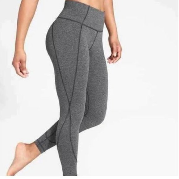 *PURPLE* Athleta Salutation 7/8 Leggings